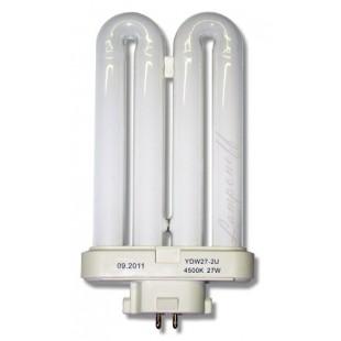 Лампа энергосберегающая YDW27-2U 27 ватт