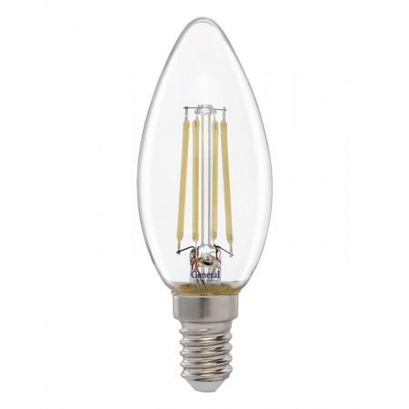 Лампа светодиодная GLDEN-CS-8-230-E14