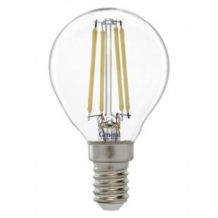 Лампа светодиодная GLDEN-G45S-7-230-E14