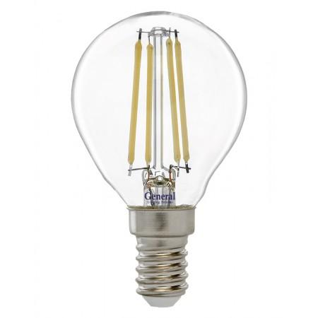 Лампа светодиодная GLDEN-G45S-8-230-E14