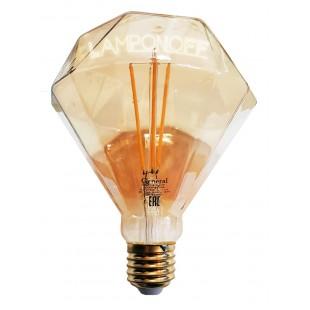 Винтажная светодиодная лампа   GLDEN-BS-10-230-E27