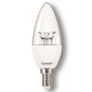 Лампа светодиодная GLDEN-СC-7-E14 (прозрачная)