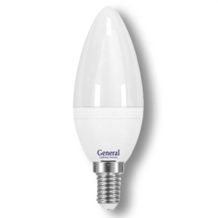 Лампа светодиодная GLDEN-CF-8-230-E14 (матовая)