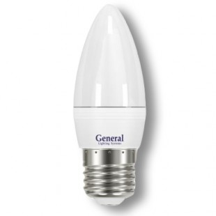 Лампа светодиодная GLDEN-СF-7-E27 (матовая)