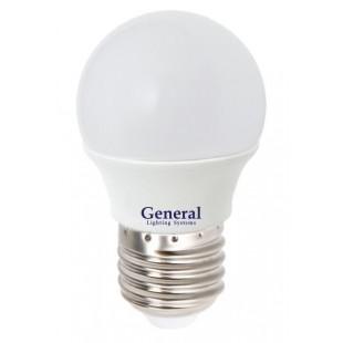 Лампа светодиодная GLDEN-G45F-8-230-E27