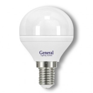 Лампа светодиодная GLDEN-G45F-7-230-E14