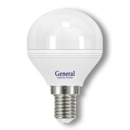 Лампа светодиодная GLDEN-G45F-8-230-E14