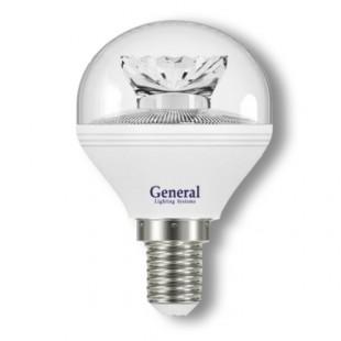 Лампа светодиодная GLDEN-G45C-7-230-E14