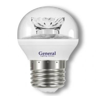 Лампа светодиодная GLDEN-G45C-7-230-E27