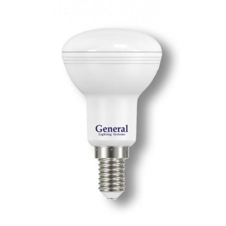 Лампа светодиодная GLDEN-R50-7-230-E14