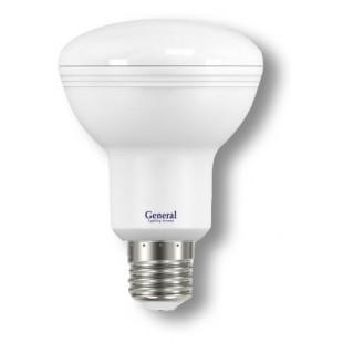 Лампа светодиодная GLDEN-R80-10-230-E27