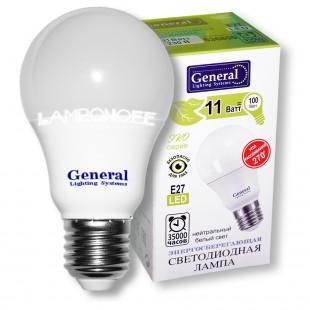 Лампа светодиодная GLDEN-WA60-11-230-E27